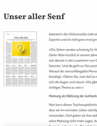 Webseite Julia Stephan: Artikel-in-Leseansicht